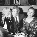 Catherine Deneuve, Sylvie Vartan et Jacques Chazot