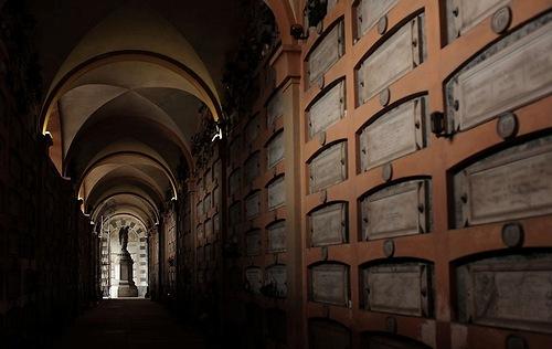 cemetery of Staleno in Genoa