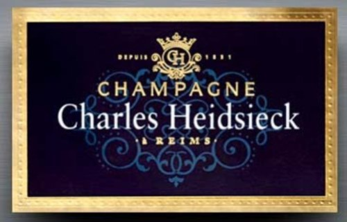 Champagne from the Heidsieck vineyard