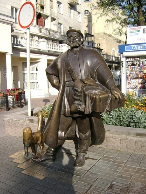 funny monuments in Russia. Chapman (Rostov-on-Don)