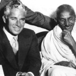 Gandhi and Chaplin, London, 1931