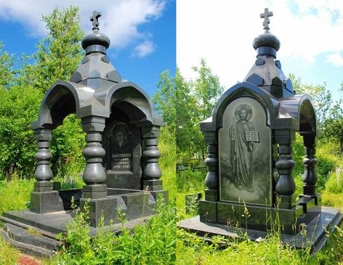 Tombstones of Russian criminal authorities (Clan of Brilliant)