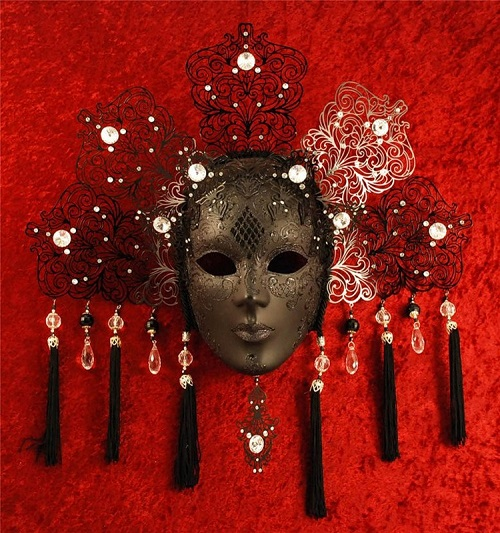 Costumes and masks at Carnival of Venice