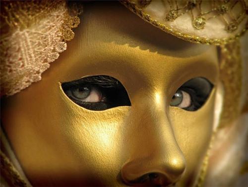 Costumes and masks at Venetian Carnival