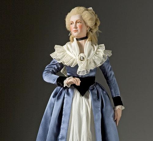 Countess Jeanne de la Motte. French Historical Figures by American artist George S. Stuart