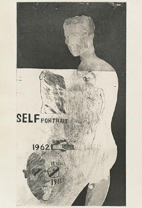 David Hockney's self-portrait