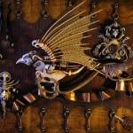Highly detailed Decorative panel. Artwork by Ukrainian artist Victor Goryaev