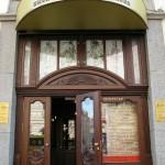 La belle epoque architecture in St. Petersburg, Russia