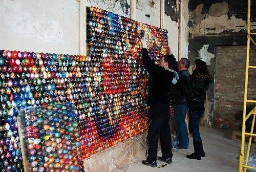 Egg Mosaics by Oksana Mas