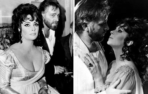 Cursed precious stones. Elizabeth Taylor and Richard Burton married and divorced twice
