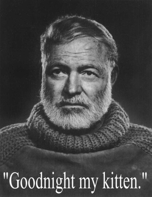 Ernest Hemingway last words of famous people