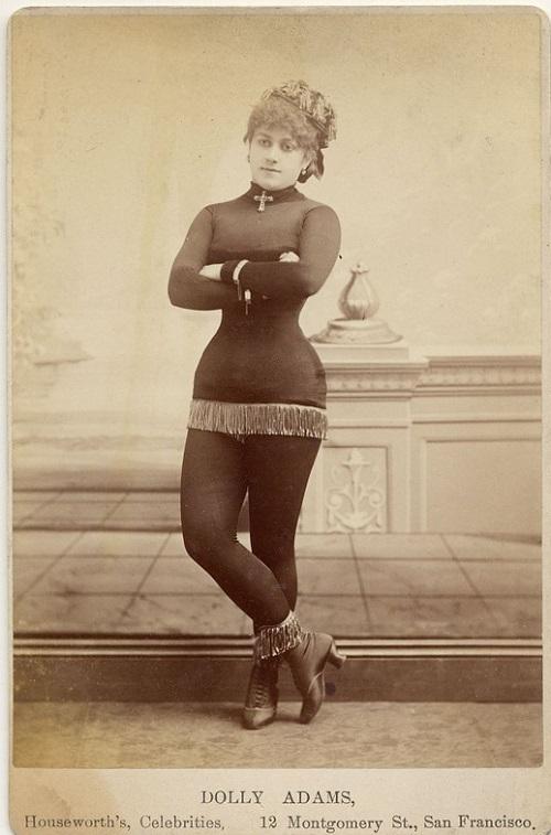 Exotic dancer Dolly Adams Houseworth's Celebrities