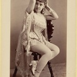 Exotic dancers of late XIX-th century