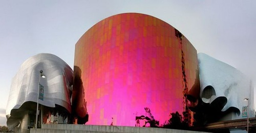 Experience music project, Seattle, usa