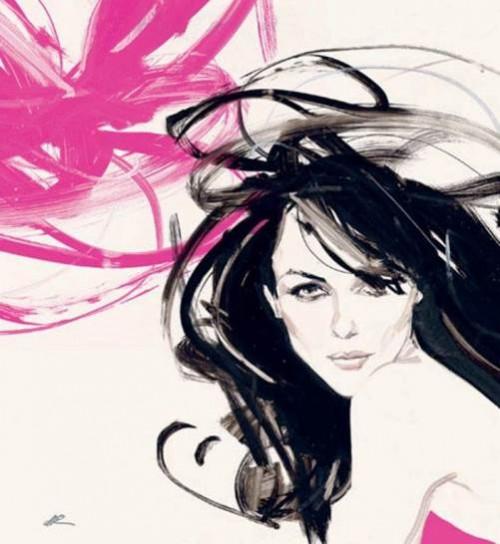 Fashion illustrator David Downton