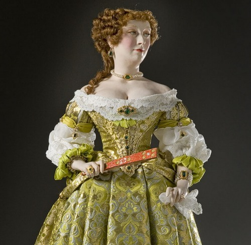 Francoise Athenais Montespan. French Historical Figures by American artist George S. Stuart