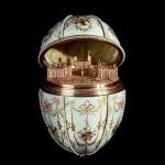 Great Gatchina Palace. Work by Russian jeweller Carl Faberge