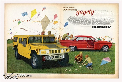 Gayety. Absurd Vintage Ads