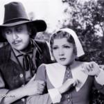 Gene Wilder with Claudette Colbert