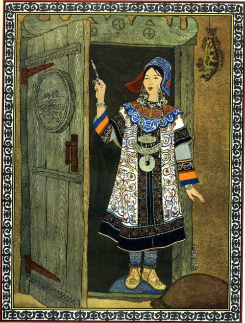 Tales of the Far East in paintings by Russian artist Gennady Pavlishin