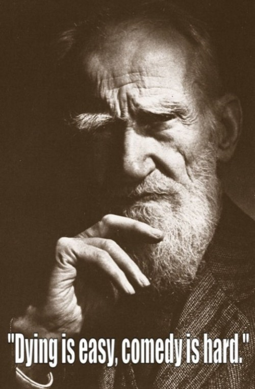 George Bernard Shaw last words of famous people