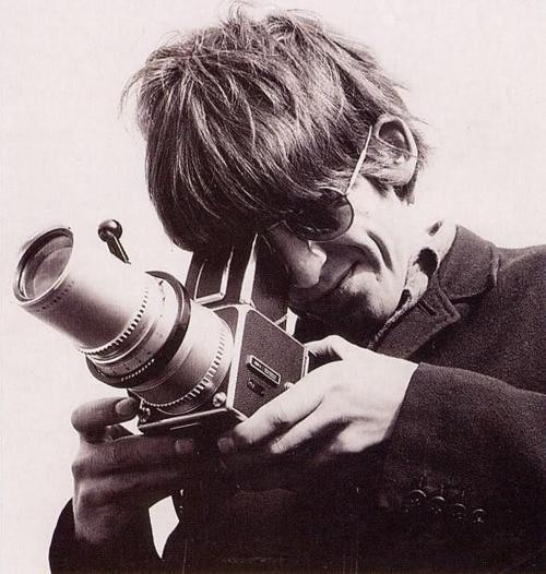 George Harrison with camera