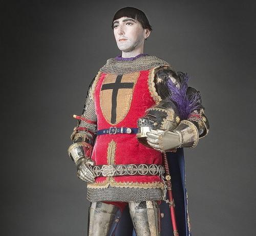 Gilles de Retz. French Historical Figures by American artist George S. Stuart