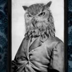 Grand Ole Bestiary Vintage project of Pseudo-retro black and white photo