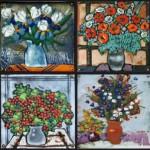 Hot enamel works by Tatiana Sipovich