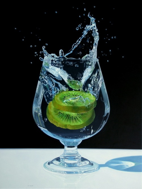 Hyper realistic oil paintings by Jason de Graaf