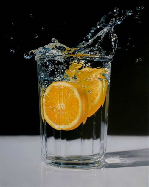 Hyper realistic oil painting by Canadian artist Jason de Graaf