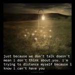 I wish I never knew you