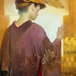Ideal of femininity in painting by Spanish artist Felix Mas