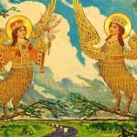 Ilya Glazunov. Alconost birds