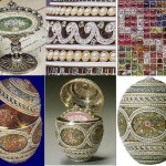 Imperial Faberge egg, details