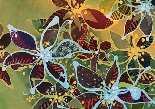 batik by Yuko Nakata