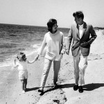 Jacqueline Kennedy and John Kennedy