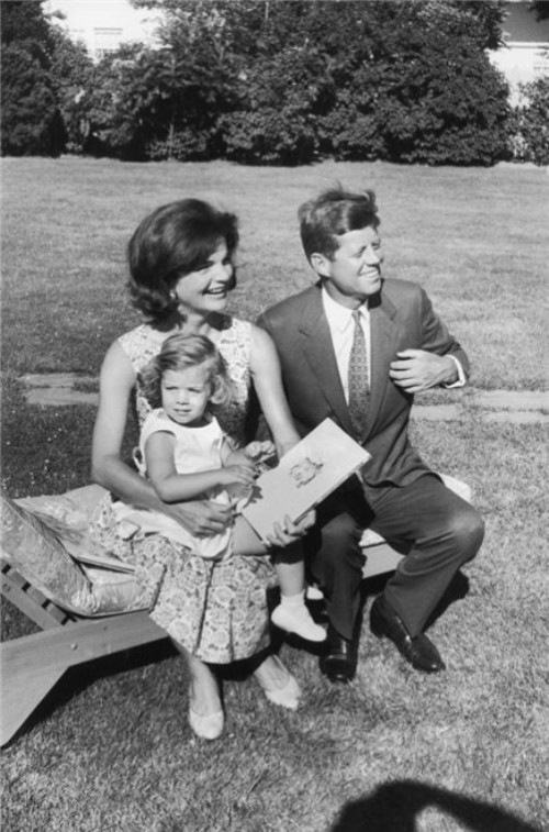 Jacqueline and John Kennedy