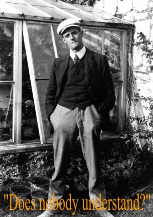 James Joyce (2 February 1882 – 13 January 1941) - Irish novelist and poet