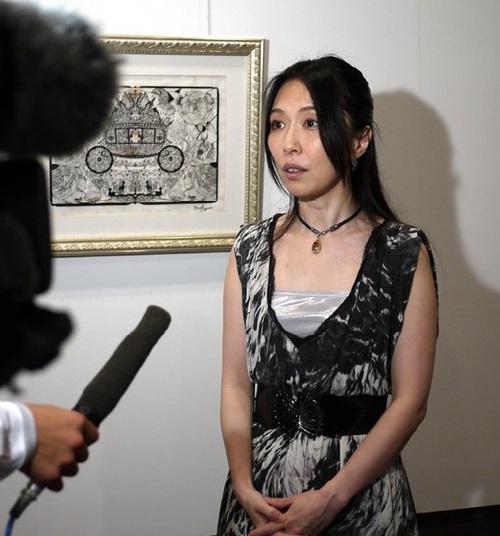 Japanese artist Hina Aoyama