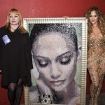 """""""Faces of the Millennium"""", mosaic portrait"""