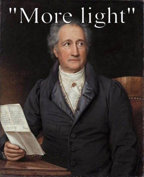 Johann Wolfgang von Goethe (28 August 1749 – 22 March 1832), German writer and statesman
