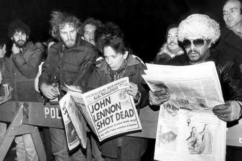 John Lennon shot dead - news