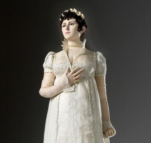 Josephine Bonaparte. French Historical Figures by American artist George S. Stuart