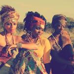 Beautiful tribal women