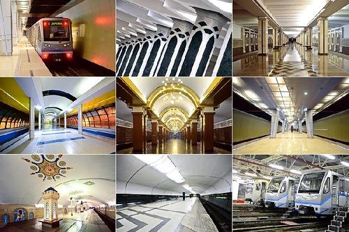 Subway in Kazan, Republic of Tatarstan, Russia