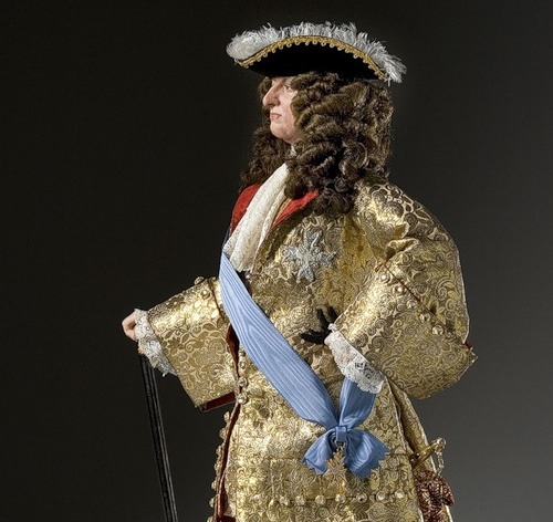 King Louis XIV 1685. French Historical Figures by American artist George S. Stuart