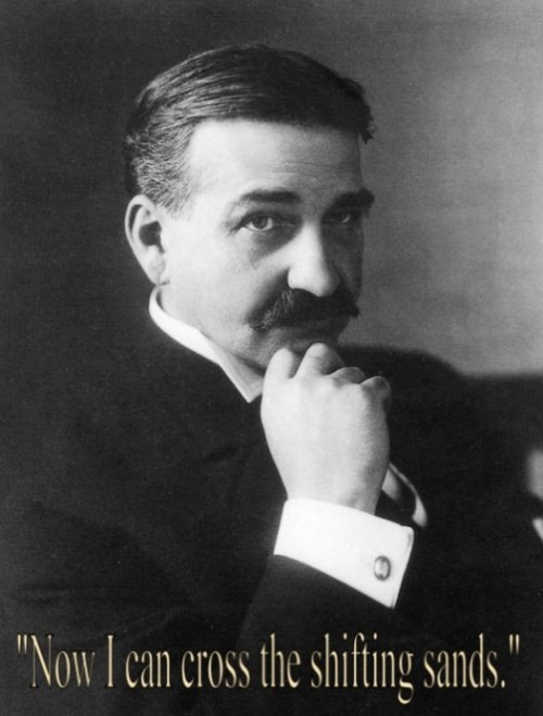L. Frank Baum (May 15, 1856 – May 6, 1919), American author of children's books