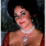 La Peregrina pearl. Elizabeth Taylor