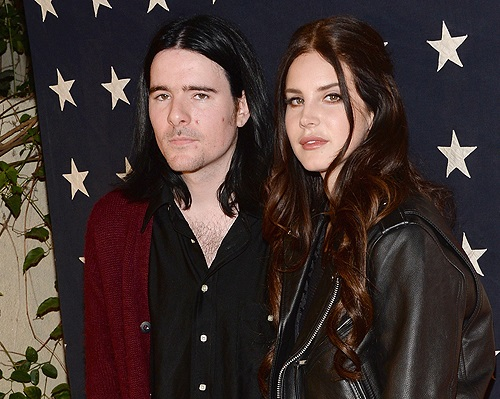 Barrie James O'Neil and singer Lana Del Rey